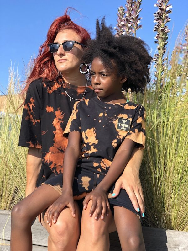 Bleach Dye T-shirt for adults and Kids