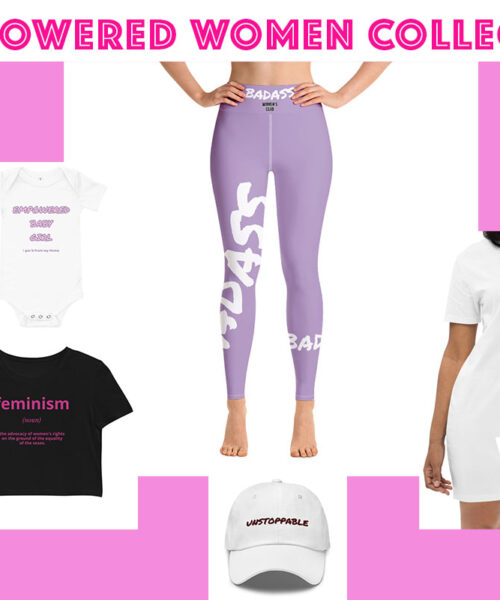 Empowered women fashion collection. Female Empowerment Blog Post